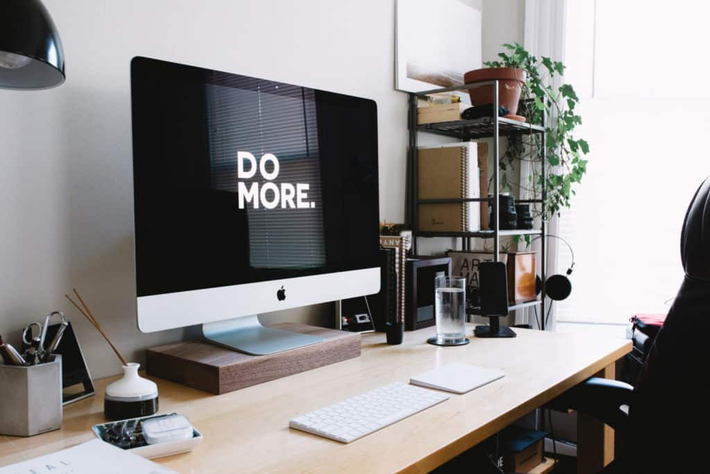 picture of a computer screen that says do more results action expertise entrepreneurship growth