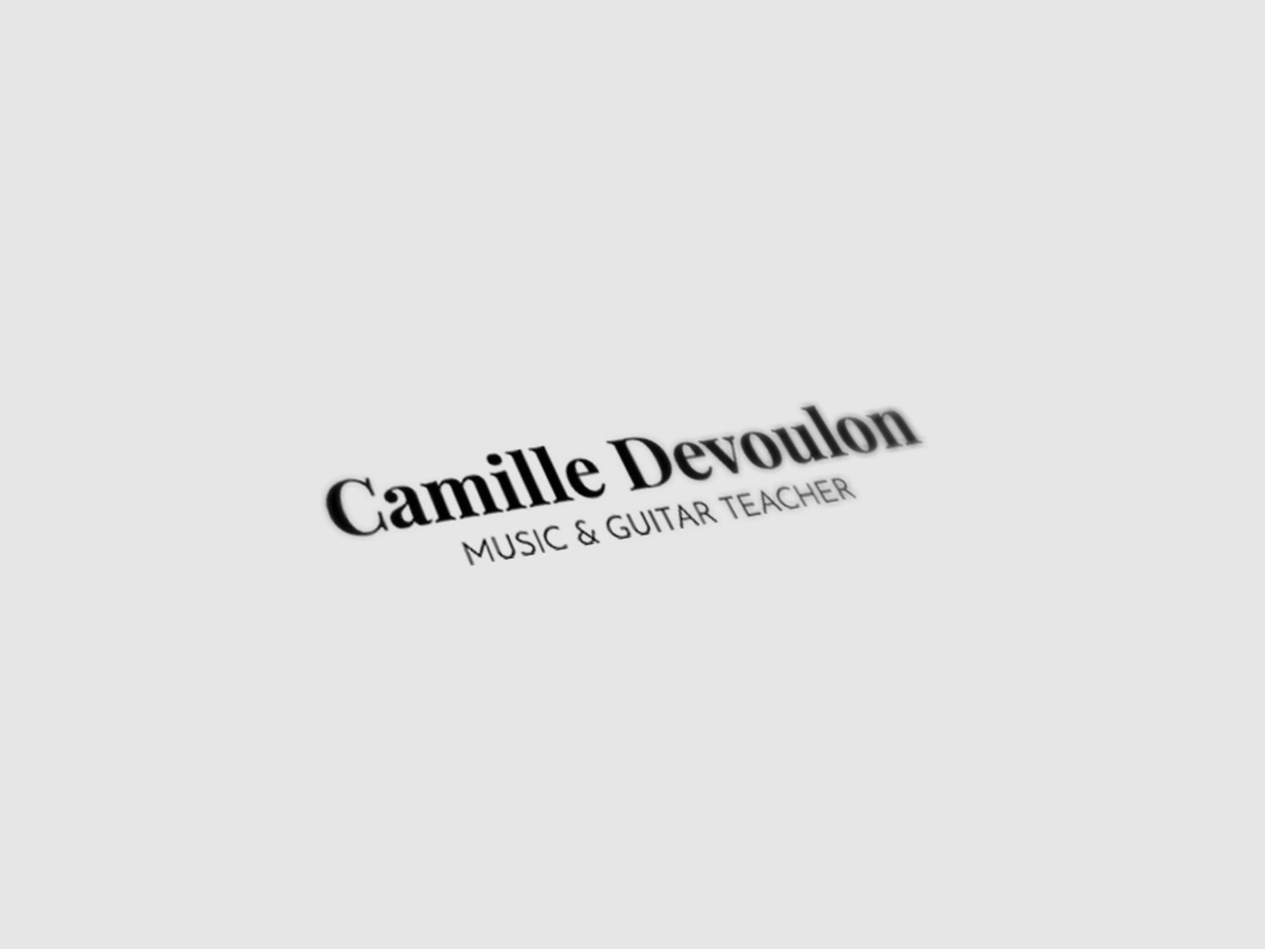 Camille Devoulon
