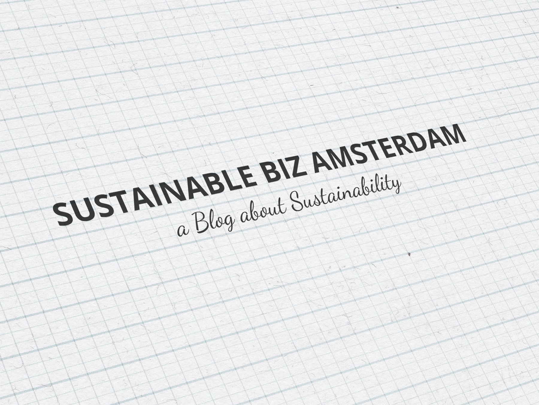 Sustainable Biz Amsterdam